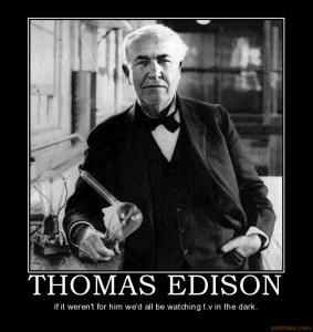 Thomas Edison Was Afraid Of The Dark