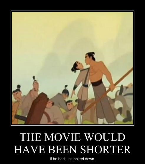 in an original mulan story she committed suicide instead