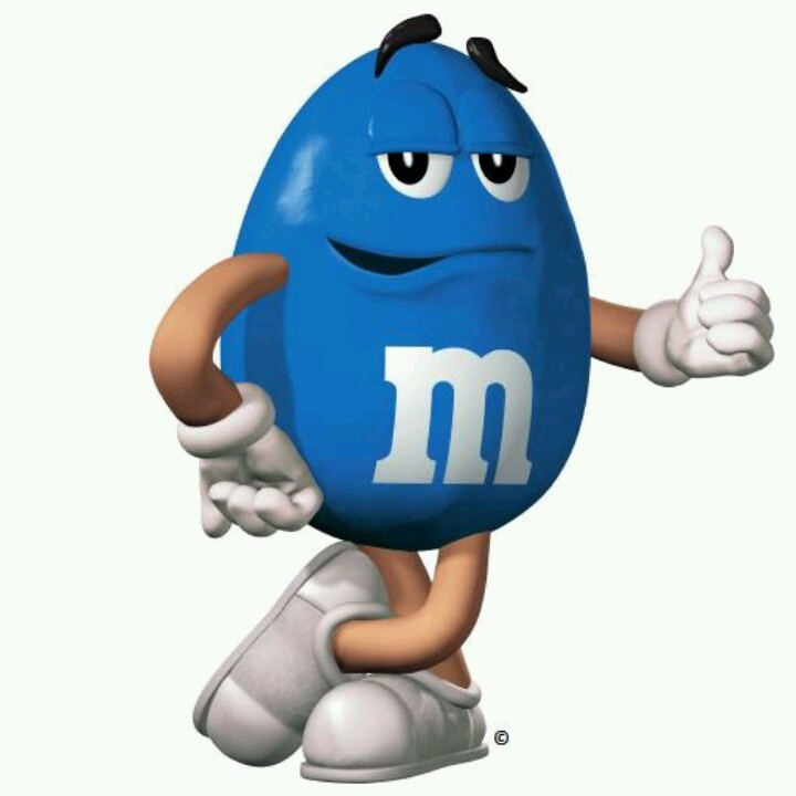 Blue M&m's Can Can Give You Bright Blue Skin and May Heal Spinal ...