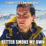 Urea is Found in Cigarettes