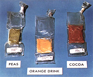 Space Meals For Apollo 11 Astronauts