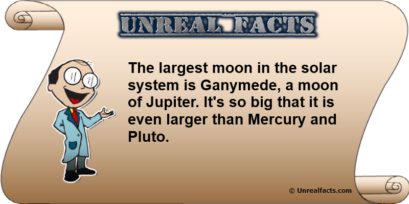 largest moon in solar system