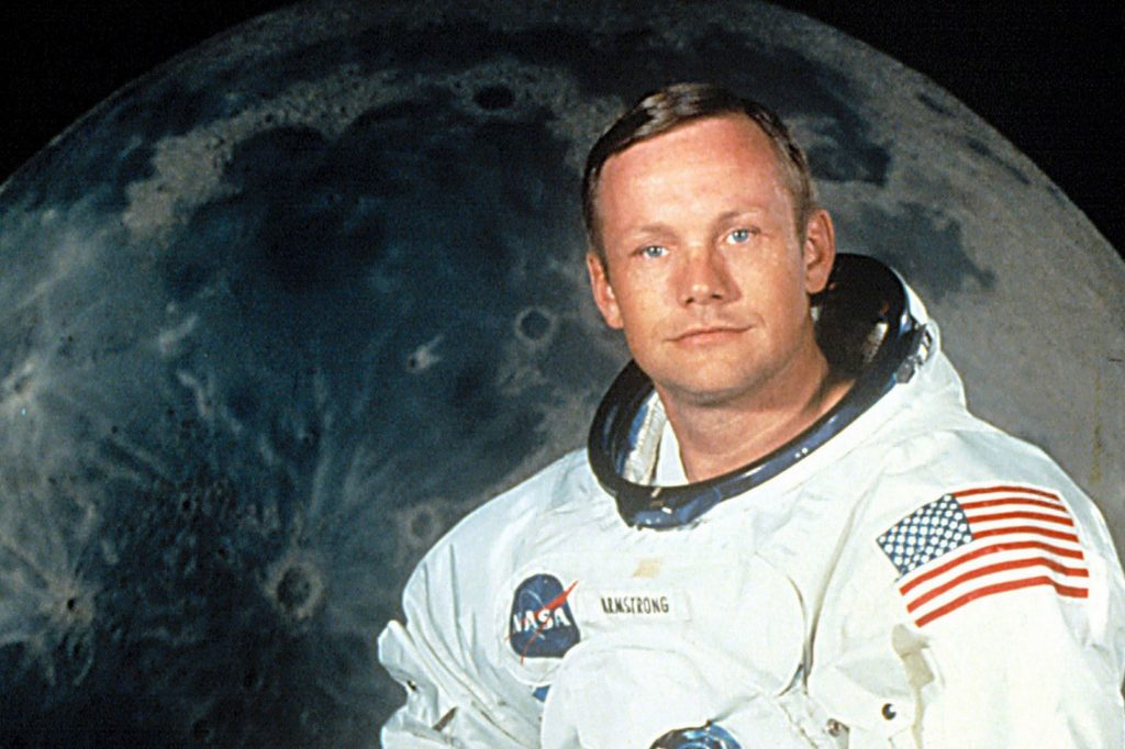 neil armstrong late application