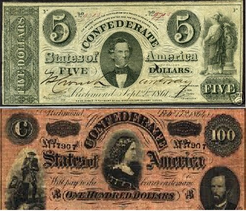 confederate money real or fake