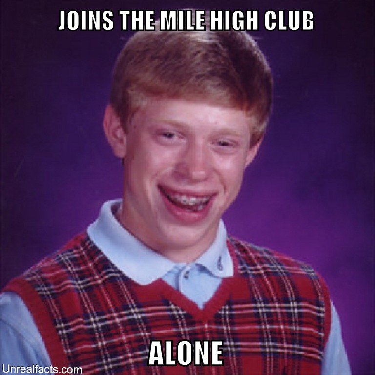 join mile high club
