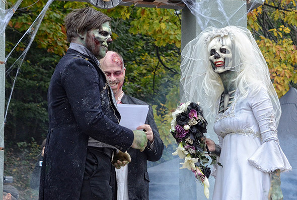 Marry a dead person france