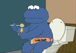 Cookie Monster Doesn't Eat Cookies
