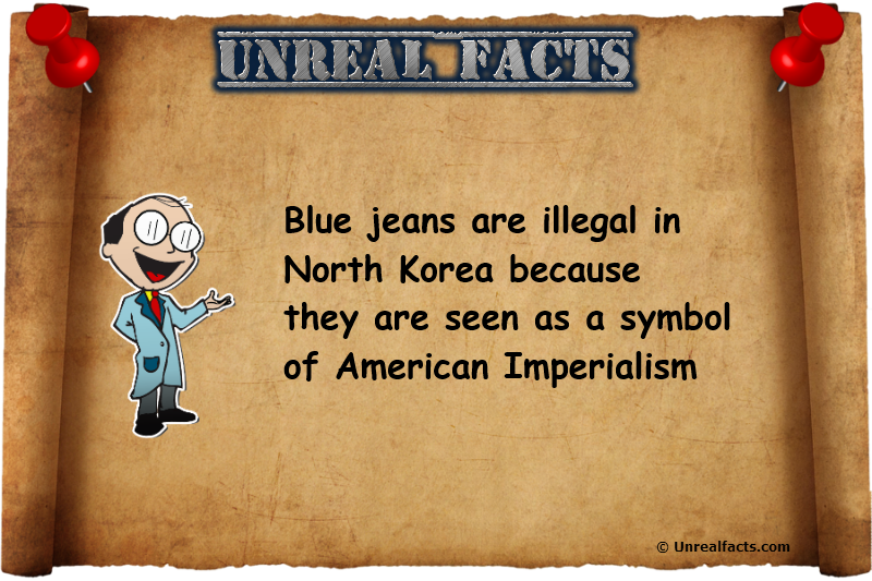 blue jeans north korea