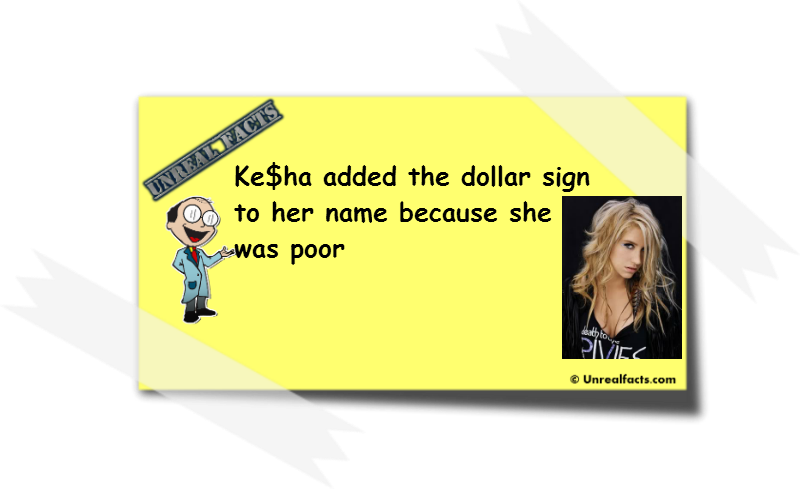 kesha dollar sign story