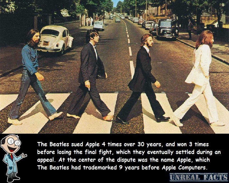 beatles sue apple