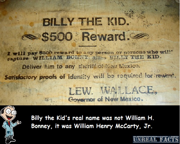 billy the kid real name
