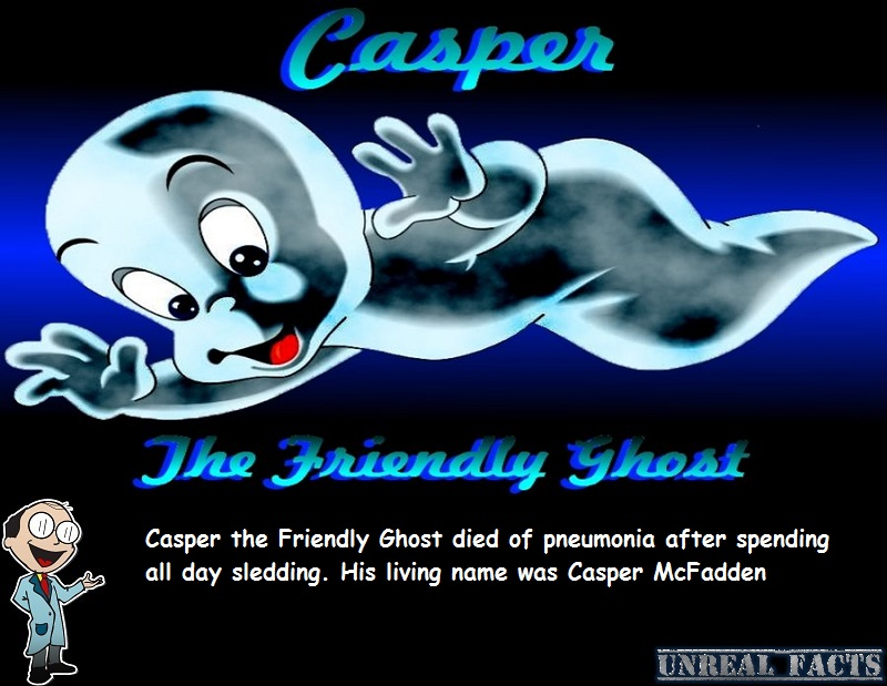 how did casper the friendly ghost die