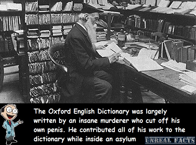 oxford dictionary written by murderer