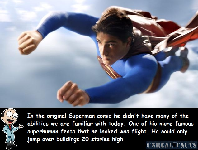 superman's original powers