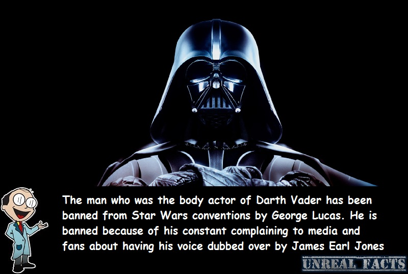 darth vader actor banned from conventions