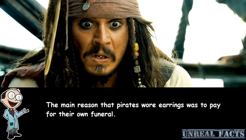 why pirates wear earrings
