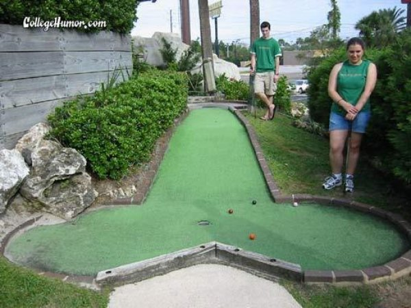 mini golf invented