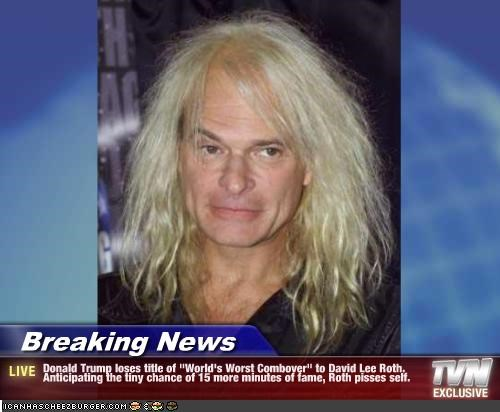 David Lee Roth Insured His Sperm