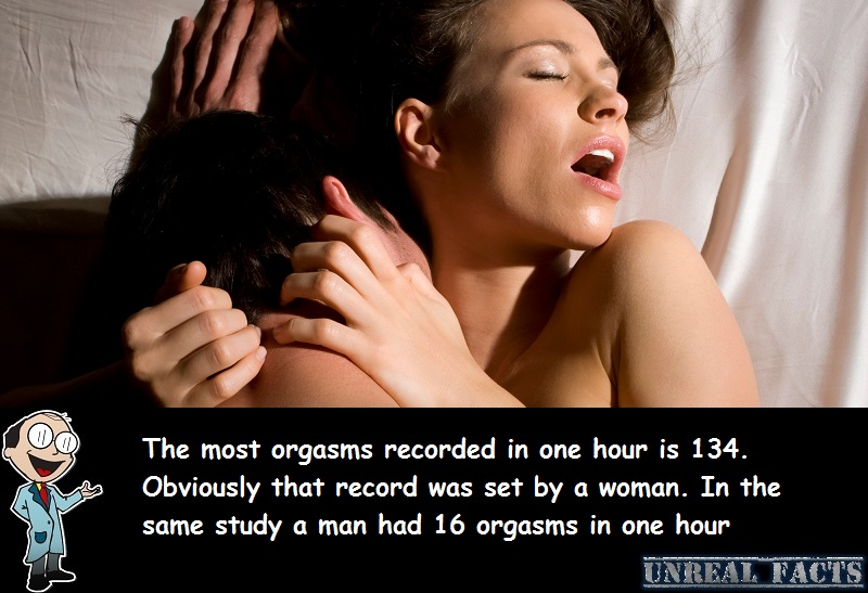 most orgasms ever recorded