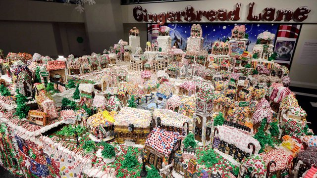 Entire Town With Gingerbread
