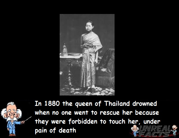 queen of thailand drowned