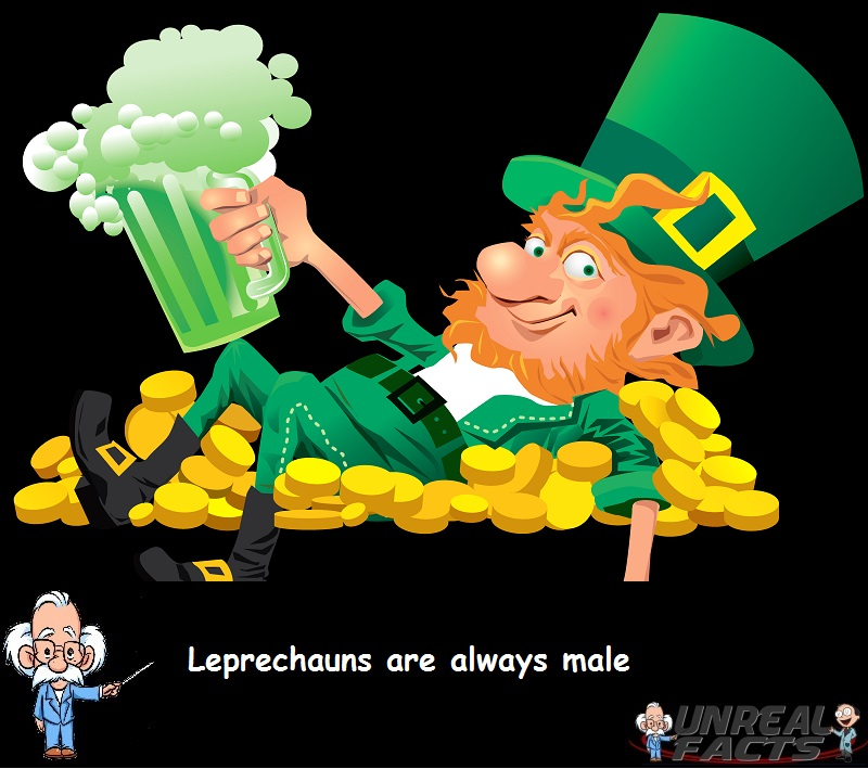Leprechauns Always Male