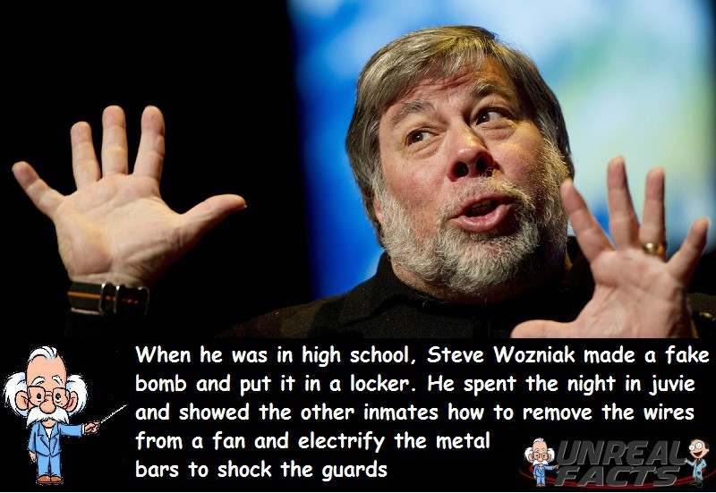 Steve Wozniak Arrested Bomb