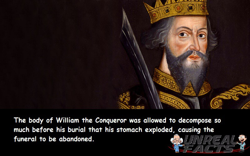 William the Conqueror Exploded Funeral